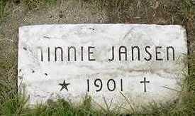 JANSEN, MINNIE - Sioux County, Iowa | MINNIE JANSEN