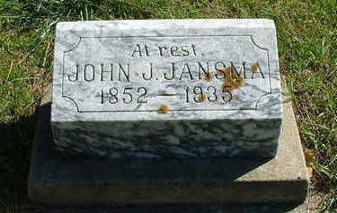 JANSMA, JOHN J. - Sioux County, Iowa | JOHN J. JANSMA