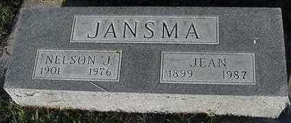JANSMA, NELSON - Sioux County, Iowa | NELSON JANSMA