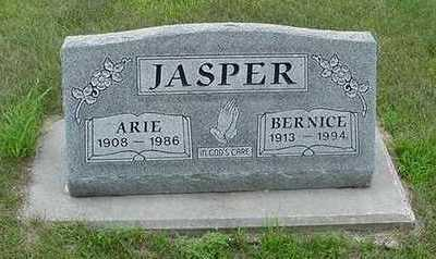 JASPER, ARIE - Sioux County, Iowa | ARIE JASPER