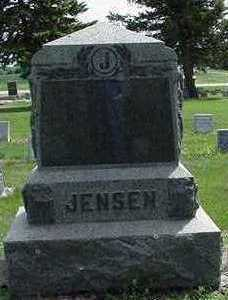 JENSEN, HEADSTONE - Sioux County, Iowa   HEADSTONE JENSEN