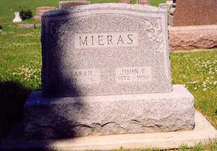 JOHN E., MIERAS - Sioux County, Iowa | MIERAS JOHN E.