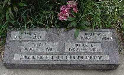 JOHNSON, HELEN S.  (3YRS) - Sioux County, Iowa | HELEN S.  (3YRS) JOHNSON