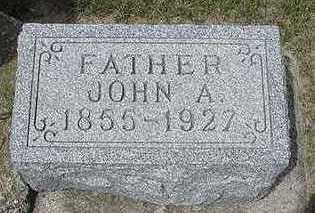 JONGEWAARD, JOHN A. - Sioux County, Iowa | JOHN A. JONGEWAARD