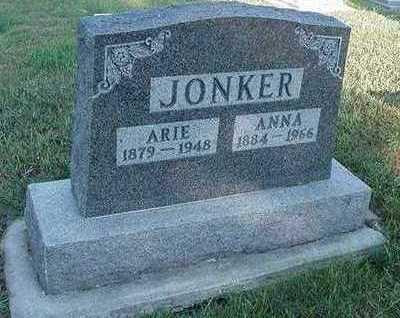 JONKER, ARIE - Sioux County, Iowa   ARIE JONKER