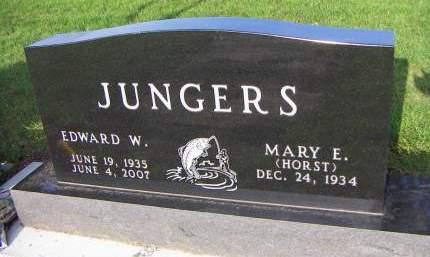 JUNGERS, EDWARD W. - Sioux County, Iowa   EDWARD W. JUNGERS