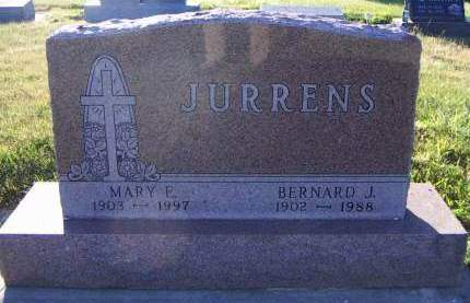 JURRENS, BERNARD J. - Sioux County, Iowa | BERNARD J. JURRENS