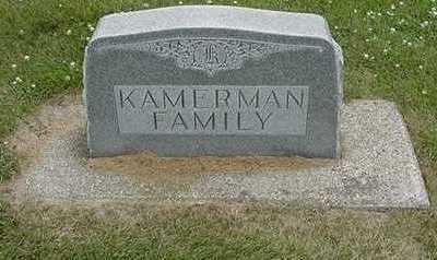 KAMERMAN, FAMILY HEADSTONE - Sioux County, Iowa | FAMILY HEADSTONE KAMERMAN