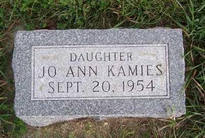 KAMIES, JOANN - Sioux County, Iowa   JOANN KAMIES