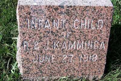 KAMMINGA, INFANT OF R.& J. - Sioux County, Iowa   INFANT OF R.& J. KAMMINGA