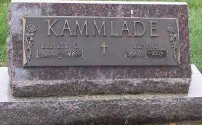 KAMMLADE, JENNIE - Sioux County, Iowa | JENNIE KAMMLADE
