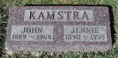 KAMSTRA, JENNIE (MRS. JOHN) - Sioux County, Iowa | JENNIE (MRS. JOHN) KAMSTRA