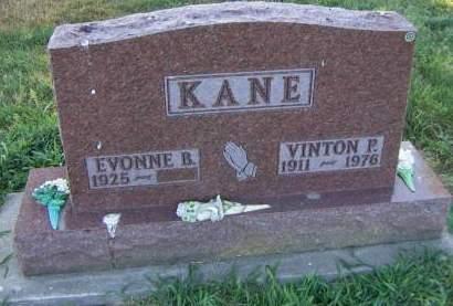 KANE, VINTON P. - Sioux County, Iowa   VINTON P. KANE