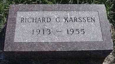 KARSSEN, RICHARD C. - Sioux County, Iowa | RICHARD C. KARSSEN