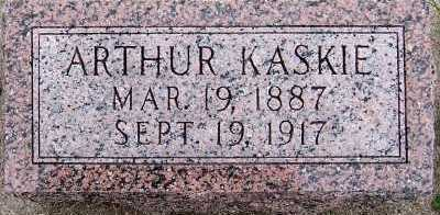 KASKIE, ARTHUR - Sioux County, Iowa | ARTHUR KASKIE