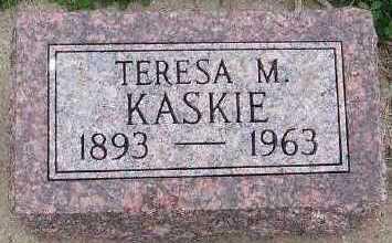 KASKIE, TERESA M. - Sioux County, Iowa | TERESA M. KASKIE