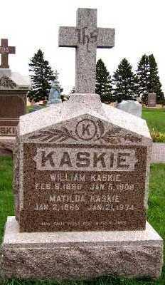 KASKIE, WILLIAM - Sioux County, Iowa | WILLIAM KASKIE