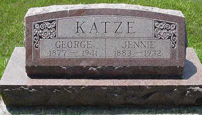 KATZE, GEORGE - Sioux County, Iowa | GEORGE KATZE