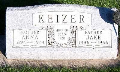 KEIZER, ANNA - Sioux County, Iowa | ANNA KEIZER