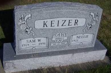 KEIZER, SAM W. - Sioux County, Iowa | SAM W. KEIZER