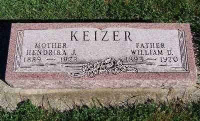KEIZER, WILLIAM D. - Sioux County, Iowa | WILLIAM D. KEIZER