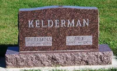 KELDERMAN, ARIE - Sioux County, Iowa   ARIE KELDERMAN