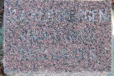 KERSBERGEN, G. A. - Sioux County, Iowa   G. A. KERSBERGEN