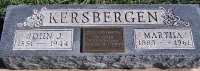 KERSBERGEN, JOHN J. - Sioux County, Iowa | JOHN J. KERSBERGEN