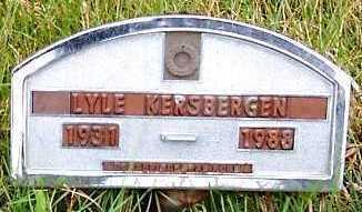 KERSBERGEN, LYLE - Sioux County, Iowa | LYLE KERSBERGEN