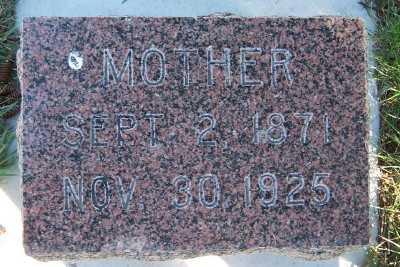 KERSBERGEN, MOTHER - Sioux County, Iowa | MOTHER KERSBERGEN