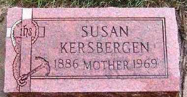 KERSBERGEN, SUSAN - Sioux County, Iowa   SUSAN KERSBERGEN