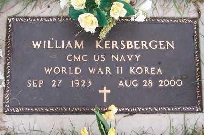 KERSBERGEN, WILLIAM - Sioux County, Iowa   WILLIAM KERSBERGEN