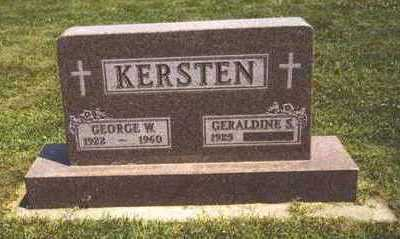 KERSTEN, GEORGE - Sioux County, Iowa | GEORGE KERSTEN