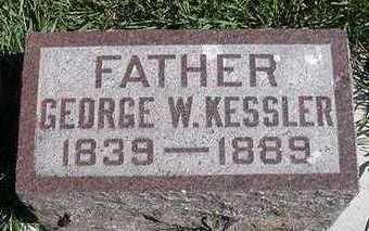 KESSLER, GEORGE W. - Sioux County, Iowa   GEORGE W. KESSLER