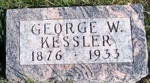 KESSLER, GEORGE W. - Sioux County, Iowa | GEORGE W. KESSLER