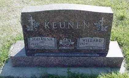 KEUNEN, WILLARD - Sioux County, Iowa | WILLARD KEUNEN