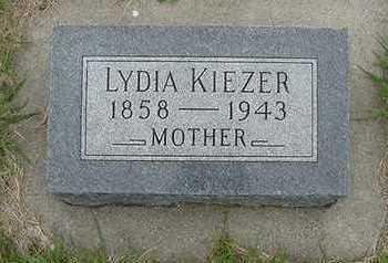 KIEZER, LYDIA - Sioux County, Iowa | LYDIA KIEZER