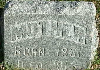 KING, ANN (MOTHER) - Sioux County, Iowa | ANN (MOTHER) KING