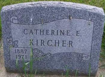 KIRCHER, CATHERINE E. - Sioux County, Iowa | CATHERINE E. KIRCHER