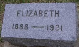 KIRKPATRICK, ELIZABETH - Sioux County, Iowa | ELIZABETH KIRKPATRICK