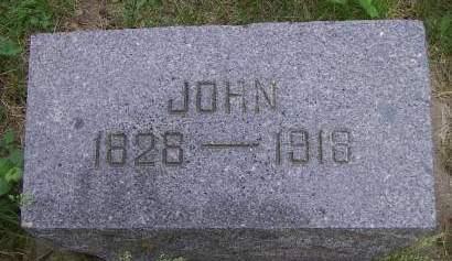 KIRKPATRICK, JOHN - Sioux County, Iowa | JOHN KIRKPATRICK
