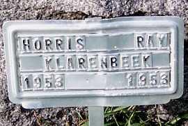 KLARENBEEK, HORRIS RAY - Sioux County, Iowa | HORRIS RAY KLARENBEEK