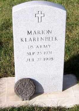 KLARENBEEK, MARION - Sioux County, Iowa | MARION KLARENBEEK
