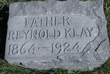 KLAY, REYNOLD - Sioux County, Iowa   REYNOLD KLAY