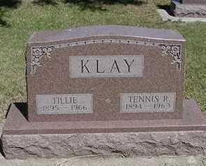 KLAY, TILLIE - Sioux County, Iowa   TILLIE KLAY