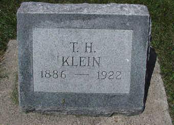 KLEIN, T. H. - Sioux County, Iowa | T. H. KLEIN