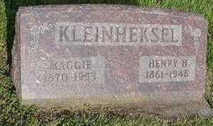 KLEINHEKSEL, MAGGIE - Sioux County, Iowa | MAGGIE KLEINHEKSEL