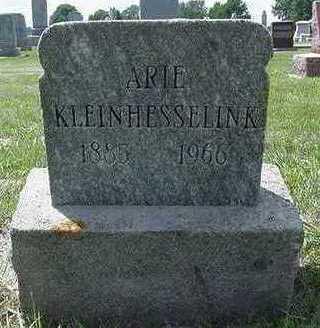 KLEINHESSELINK, ARIE - Sioux County, Iowa   ARIE KLEINHESSELINK