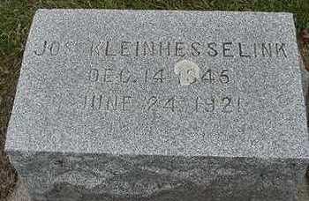 KLEINHESSELINK, JOS.  D. 1921 - Sioux County, Iowa | JOS.  D. 1921 KLEINHESSELINK