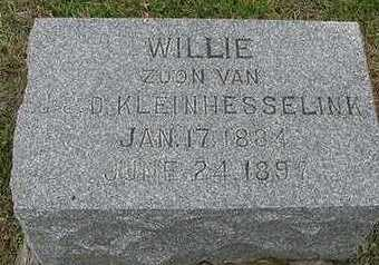 KLEINHESSELINK, WILLIE  D.1897 - Sioux County, Iowa | WILLIE  D.1897 KLEINHESSELINK